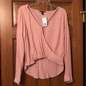 Forever 21 blush colored blouse. NWT!
